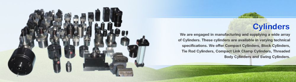 Cylinders, Power Pack Units, Rotary Joint, Hydraulic Cylinders